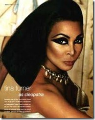 Tina Turner Cleopatra