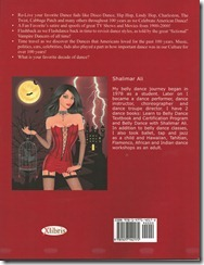 The Vampire Dancer Saga back cover