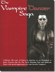 The Vampire Dancer Saga Front