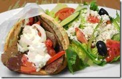 Gyro Greek Salad