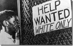 Help Wanted Whites Only