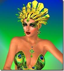 Peacock Queen