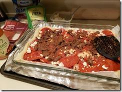 Greek Pizza 105